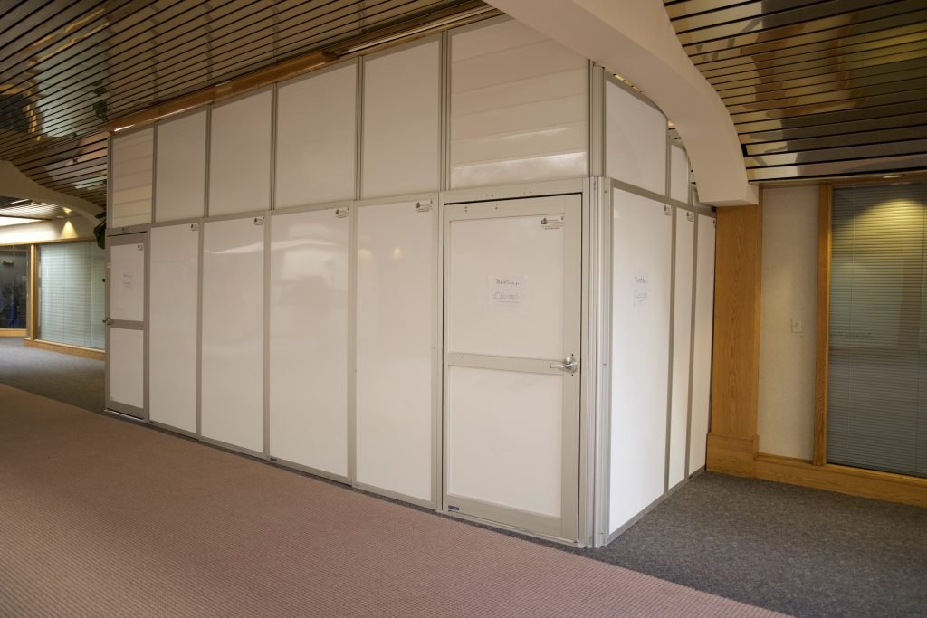 modular temporary walls